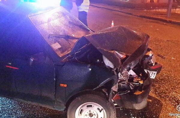 В Николаеве ВАЗ с пьяным водителем за рулем влетел в Opel - есть пострадавшие   Корабелов.ИНФО