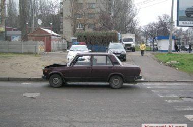 В Николаеве полицейский ВАЗ врезался в «Шевроле» | Корабелов.ИНФО image 5