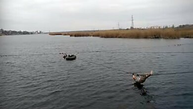 Военный в Николаеве спас рыбака, тонущего в реке (видео) | Корабелов.ИНФО