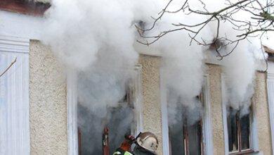 У Корабельномупід час пожежі у житловому будинку врятовані двоє дітей (відео)   Корабелов.ИНФО image 4