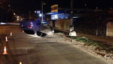 В Николаеве пьяный водитель-рецидивист перевернулся на «Daewoo» и пытался сбежать с места ДТП | Корабелов.ИНФО image 2