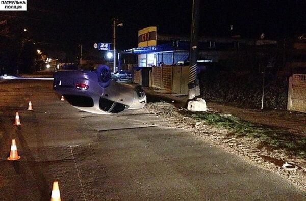 В Николаеве пьяный водитель-рецидивист перевернулся на «Daewoo» и пытался сбежать с места ДТП   Корабелов.ИНФО image 2