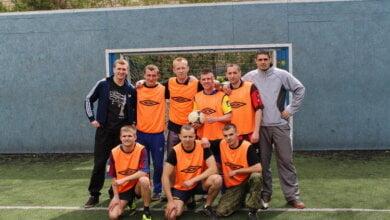 Миколаївські патрульні з третього батальйону провели футбольні змагання,  команда Корабельного була за крок до перемоги | Корабелов.ИНФО image 1