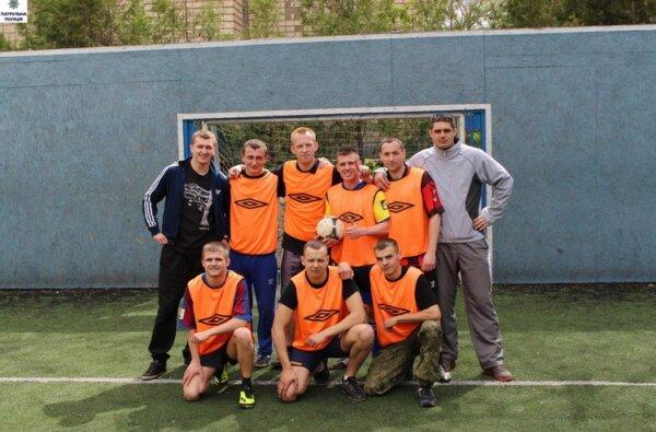 Миколаївські патрульні з третього батальйону провели футбольні змагання,  команда Корабельного була за крок до перемоги   Корабелов.ИНФО image 1