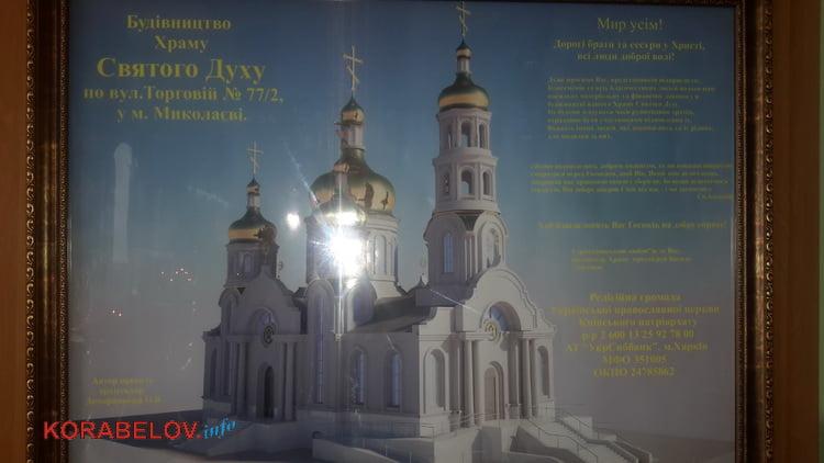 эскизный проект Храма Святого Духа на ул. Торговой