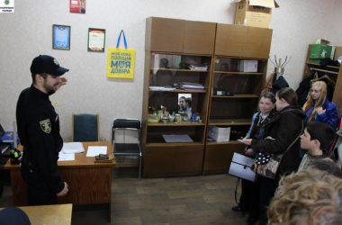 В Управлении патрульной полиции Николаева нашли индивидуальные слова для юных журналистов из Корабельного района | Корабелов.ИНФО image 5
