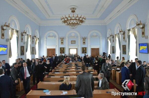 «Оппозиционный блок» не явился на сессию Николаевского горсовета: прямая трансляция | Корабелов.ИНФО