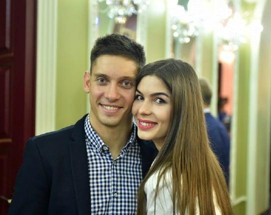Илья Кваша с супругой