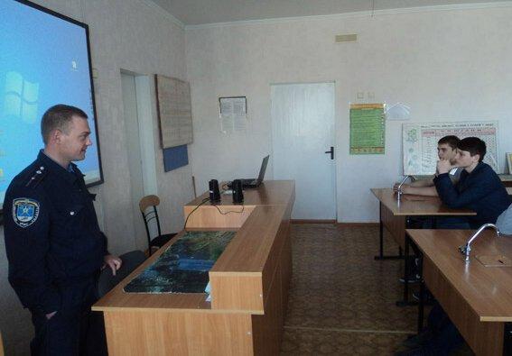 Школярі побували в Корабельному відділі поліції | Корабелов.ИНФО image 1