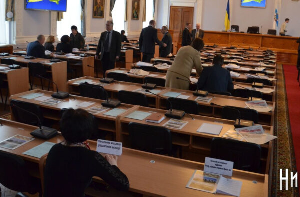 Фракция «Оппозиционного блока» приняла решение о бойкоте сессии горсовета   Корабелов.ИНФО