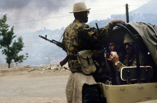 В Нагорном Карабахе начались масштабные боевые действия между Арменией и Азербайджаном   Корабелов.ИНФО