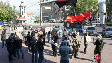 Группа николаевцев провела акцию против «Сбербанка России» | Корабелов.ИНФО
