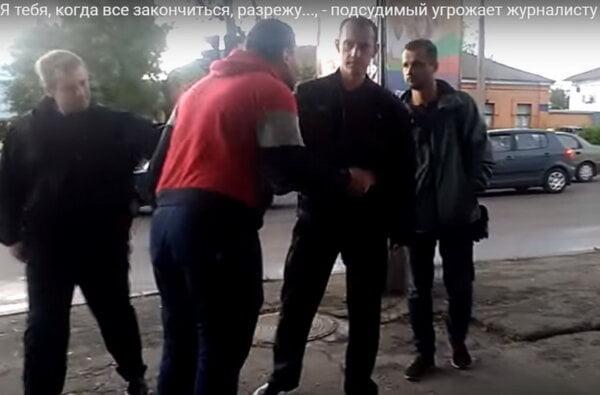 """""""На *уй ты лезешь... я разрежу тебя"""", - подсудимый херсонец угрожал николаевскому журналисту (Видео +18)   Корабелов.ИНФО image 2"""