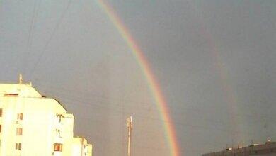 Пусть Вам повезет! Двойной радуге порадовались жители Корабельного района Николаева | Корабелов.ИНФО image 3