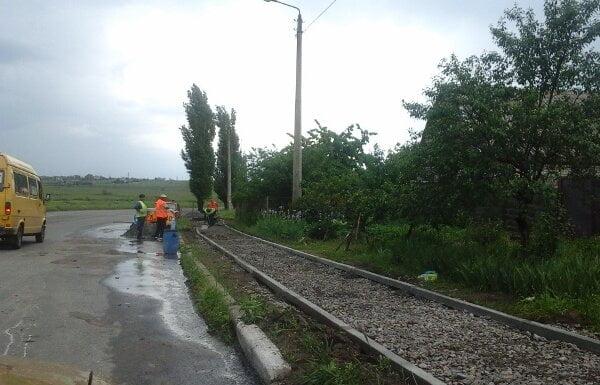В Корабельному районі ремонтують тротуари і відновлюють вуличне освітлення   Корабелов.ИНФО image 1