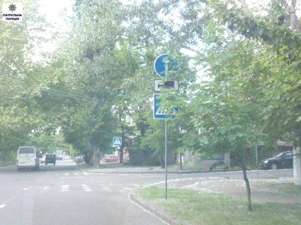 Патрульна поліція заявила про погану видимість дорожніх знаків та світлофорів через гілки дерев | Корабелов.ИНФО image 5