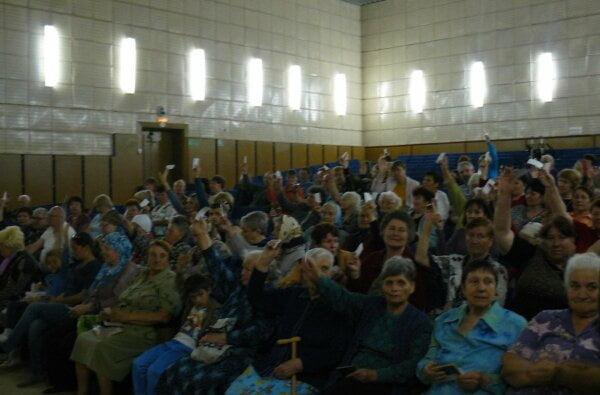 В Кульбакино одобрили строительство храма Московского патриархата – все решили бабушки, пришедшие на слушания   Корабелов.ИНФО