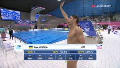 Золото! Илья Кваша «всех порвал» на метровом трамплине | Корабелов.ИНФО