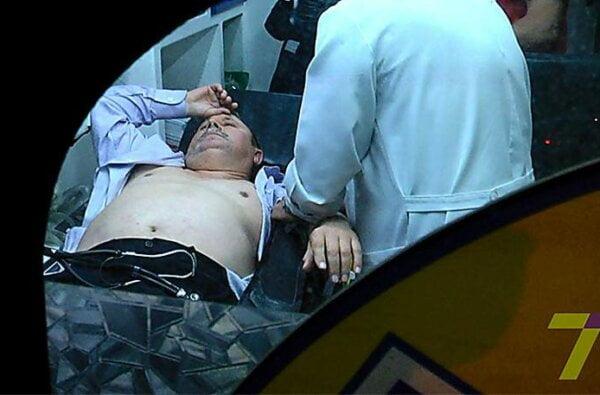 Николая Романчука госпитализировали из зала суда с высоким давлением, когда мера пресечения ему еще не была избрана | Корабелов.ИНФО