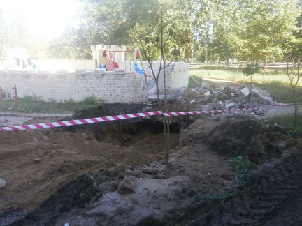 Из-за прорвавшей водопроводной трубы пришлось разрушить одну из башен «Сказки» в Корабельном районе (видео)   Корабелов.ИНФО image 10