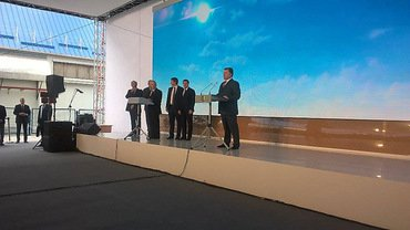Порошенко в Николаеве приземлился на аэродроме в Кульбакино и поехал в Николаевский морпорт (ВИДЕО) | Корабелов.ИНФО