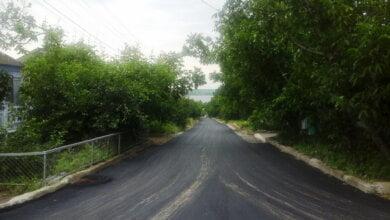 Отремонтированы дороги по Рыбной и Смирнова, сделан тротуар возле школы №48, вырубили сорняки вдоль объездной | Корабелов.ИНФО image 1