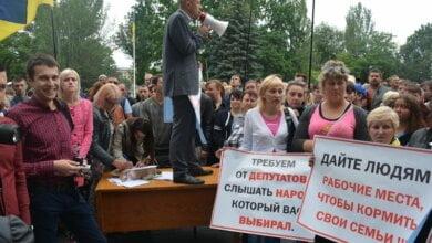 Photo of Мэр уступил митингующим: в Николаеве «будки» сносить не будут, пока не создадут схему их размещения (Видео)