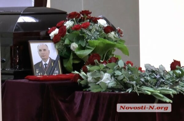 В Николаеве простились с одним из самых известных портовиков Украины Виталием Крапивой (видео)   Корабелов.ИНФО