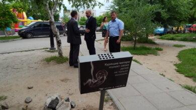 Photo of «Пусть даже и таким «резким» способом» —  МСП «Ника-Тера» решил «шокировать» курильщиков Корабельного района