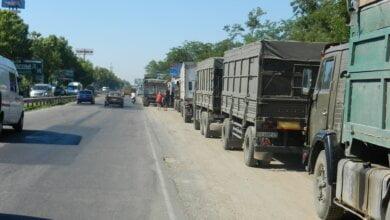Photo of Городская власть на несколько суток полностью «закрыла» Николаев для грузовиков