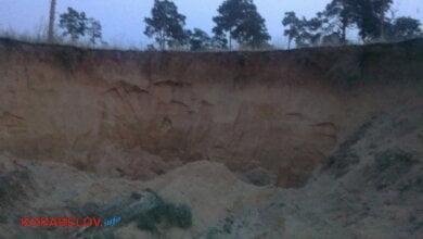 Photo of Продолжается незаконный вывоз песка из Балабановского леса. В очередной раз полиция не смогла задержать воров