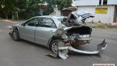 Photo of В Корабельном столкнулись «Фиат», «Мазда» и «Ланос» — пострадала девушка-водитель