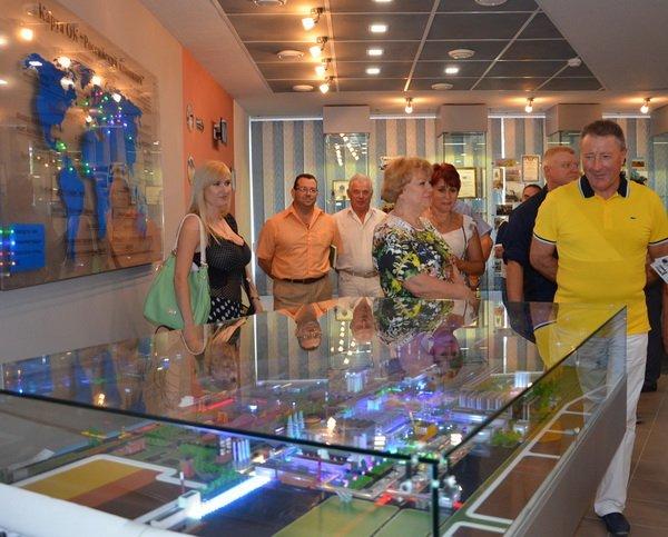 открытие музея на НГЗ