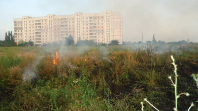 Photo of У Миколаєві — надзвичайна пожежна небезпека. Будьте обережні!