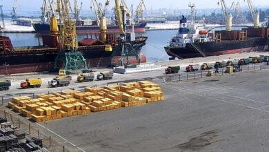 В порту «Октябрьск» проводиться ваговий контроль вантажного автотранспорту   Корабелов.ИНФО image 3