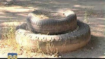 Photo of ЖЭК «Корабел» на месте спортплощадки в одном из дворов района сделал «мусорку» (ВИДЕО)