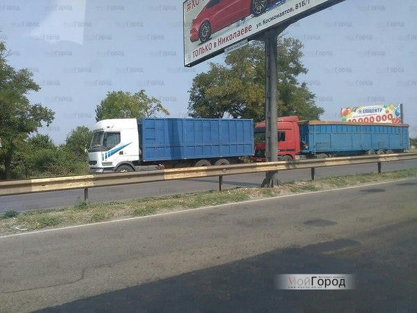 В Корабельном районе Николаева продолжается нашествие грузовиков | Корабелов.ИНФО image 2
