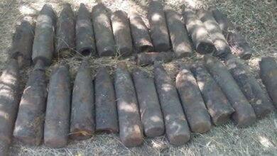 Photo of У Вітовському районі знайшли 26 снарядів