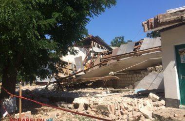 Через 3 часа после визита комиссии в вечернюю школу в Корабельном районе рухнула стена спортзала (ВИДЕО) | Корабелов.ИНФО image 6