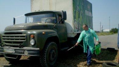 Photo of «Ника-Тера» помогает устанавливать дезбарьеры для борьбы с африканской чумой свиней