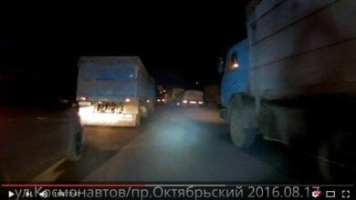 """Министр уехал, а проблемы с """"фурами"""", разрушающими дороги в Николаеве, остались (видео)   Корабелов.ИНФО"""