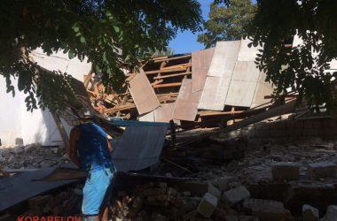 Через 3 часа после визита комиссии в вечернюю школу в Корабельном районе рухнула стена спортзала (ВИДЕО) | Корабелов.ИНФО image 7