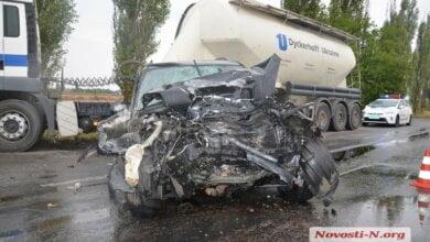 Под Николаевом произошла тяжелая авария из-за метавшихся по салону авто собак | Корабелов.ИНФО