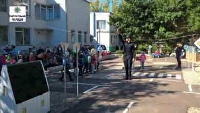 Патрульні завітали до дітей в Корабельному районі | Корабелов.ИНФО image 1
