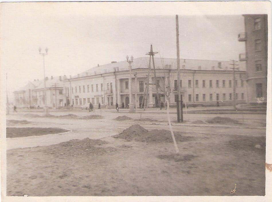 перекресток пр. Богоявленского и ул. Новотсройная. Начало 60-х