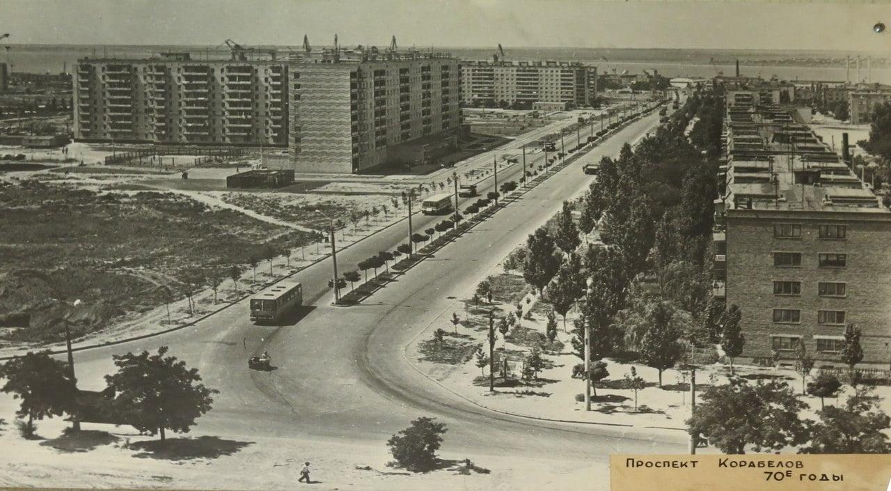 пр. Корабелов 70-е годы