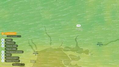 Ухудшение погоды в Николаеве можно отслеживать на графической карте | Корабелов.ИНФО