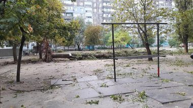 В Николаеве за ночь упали 120 деревьев, за один день с последствиями стихии в городе не справятся | Корабелов.ИНФО image 4