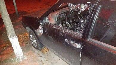 В Николаеве активисту (экс-милиционеру) ночью разгромили автомобиль   Корабелов.ИНФО