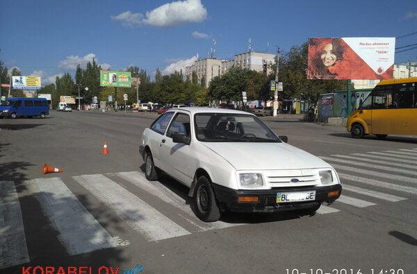 На пешеходном переходе средь бела дня в Корабельном районе в ДТП попала 10-летняя школьница   Корабелов.ИНФО image 2